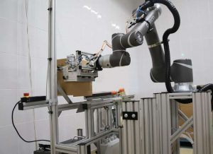 Коллаборативный робот SIA. Картонажник. Манипулятор TM Robot и захват SIA.