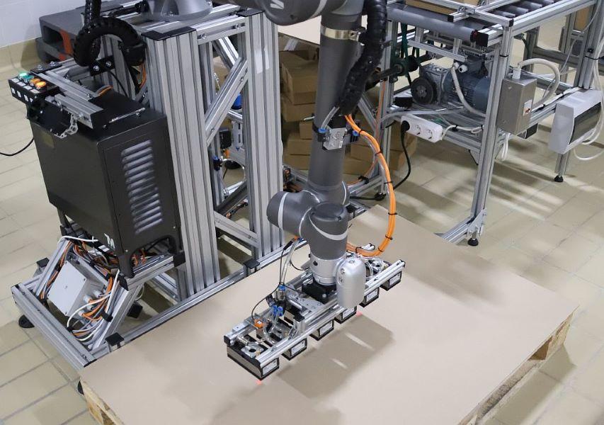 Робот манипулятор TM robot и захват индивидуальный SIA. Начало работы.