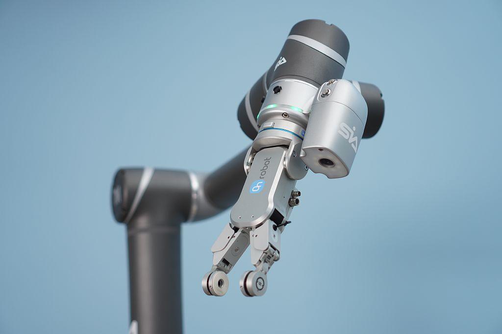 SIA. TM Robot с техническим зрением и RG2-FT OnRobot.