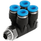 Pneumatic fittings system