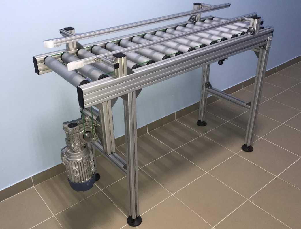 Роликовый конвейер приводной SIA